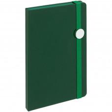 Блокнот Round, зеленый