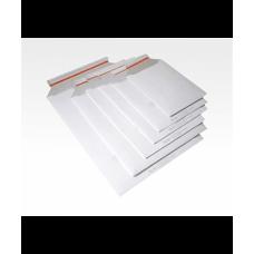 Конверт из картона А5 (175*250), самоклеящийся клапан, белый, мелованный с одной стороны