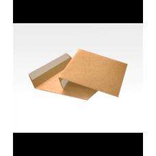 Конверт из крафт-бумаги 110*220, формат Е65, отрывная лента, 80 гр.