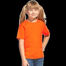 Футболка детская унисекс, цвет оранжевый