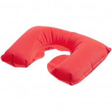 Надувная подушка в чехле, красная