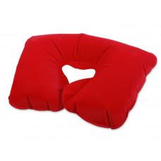 "Подушка под голову  ""Промо"", красная"