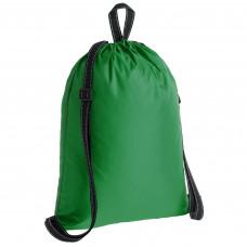 Рюкзак с ручкой петелькой , зеленый