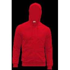 Куртка/Толстовка с капюшоном , 260 гр.., цвет красный