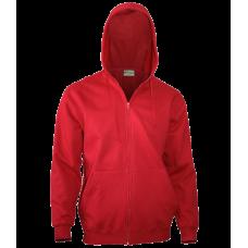 Куртка/Толстовка с капюшоном, 280 гр., цвет красный