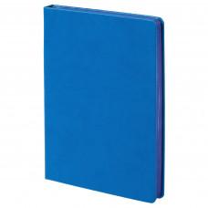 Ежедневник Blue недатированный, А5, голубой с синим