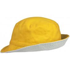 Панама Unit Summer двусторонняя, желтая с  серым.