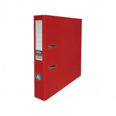 Папка-регистратор, 1 мех. кр., А4, 50 мм кор., PVC (ПВХ), красная