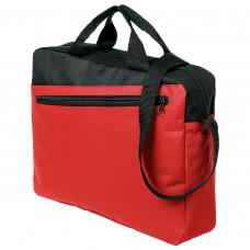 Конференц-сумка Unit Dia, красно-черная