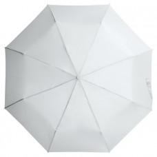 "Зонт складной ""Бэйсик"", белый"