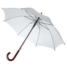 """Зонт-трость """"Юнит"""", белый"""