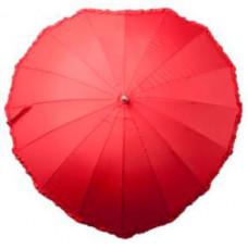 """Зонт раскладной """"Сердце"""", красный"""